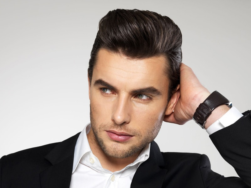5 Simple Steps To Get Slicked Back Hair Fast Hairstylecamp