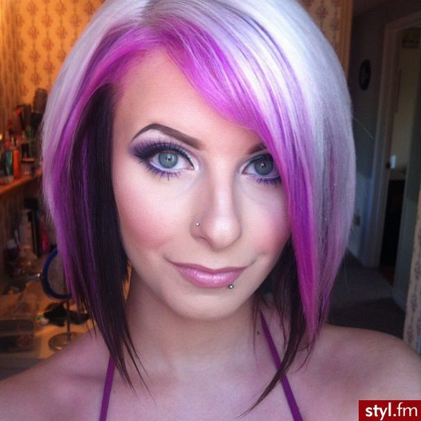 Blonde And Purple Hair 20 Ways To Get Your Kicks