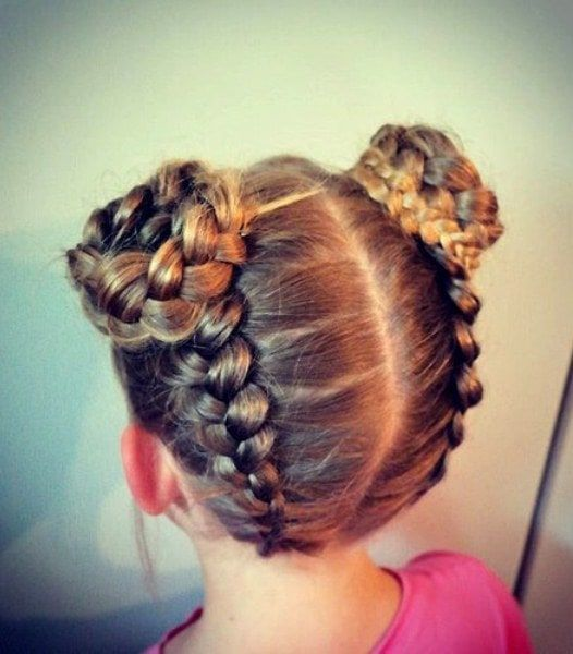 101 Magical Braided Hairstyles For Little Girls Hairstylecamp