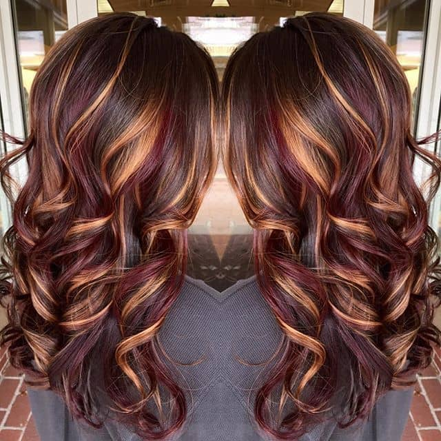 30 Cute Unique Hair Color Ideas For Long Hair 2021 Trends