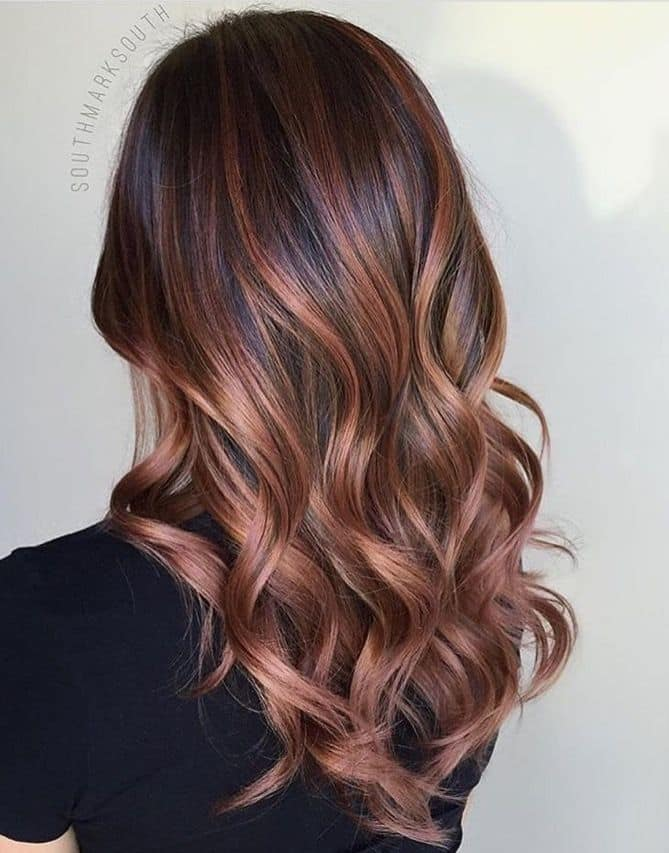 Balayage Hair Styles Cool Top 10 Brunette Balayage Hairstyles To Copy  Hairstylecamp