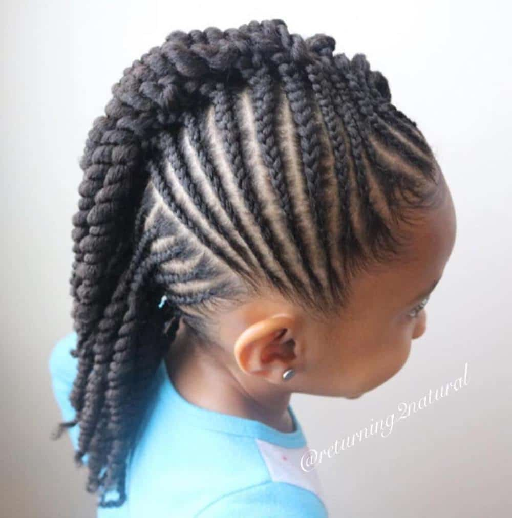 45 Fun Amp Funky Braided Hairstyles For Kids Hairstylecamp