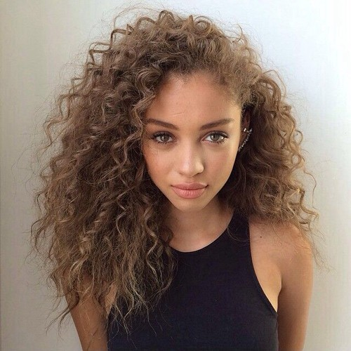 Golden Brown Hair Colors For Light Skin Girl