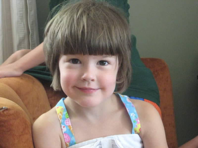 15 Captivating Little Girl Haircuts With Bangs Hairstylecamp