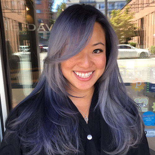 10 Alluring Side Bangs On Long Hair 2019 Hairstylecamp
