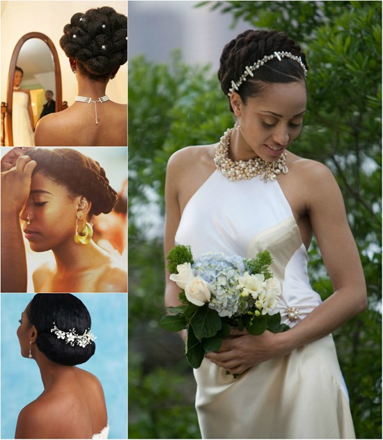 Hindu Bridal Hairstyles 14 Safe Hairdos For The Modern: 25 Handy Wedding Hairstyles For Black Brides To Feel Special