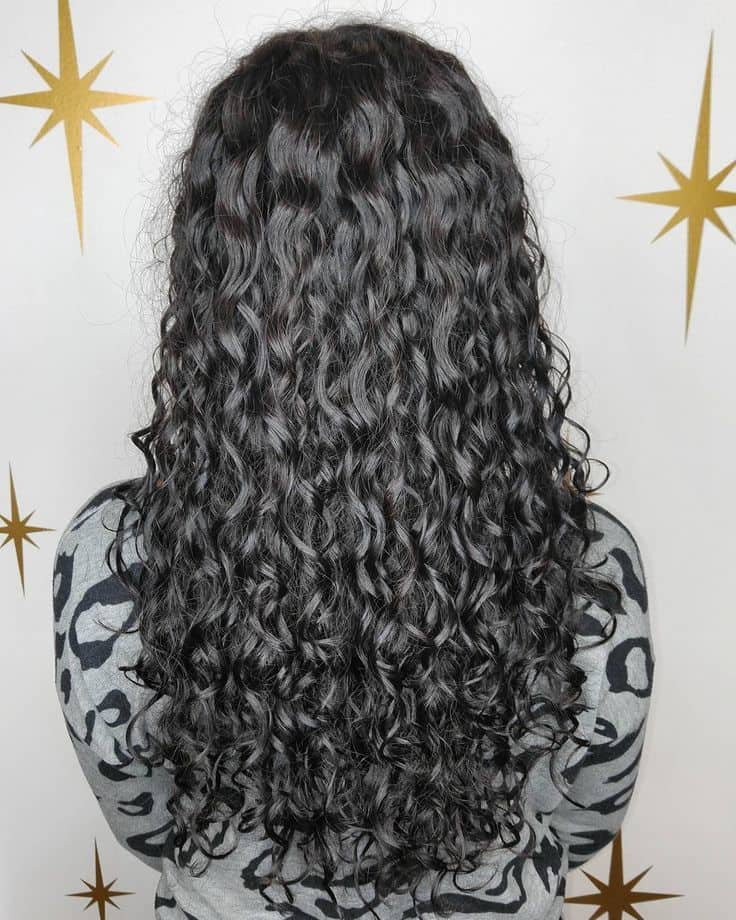61 Charming Perms Dedicated To Long Hair Hairstylecamp