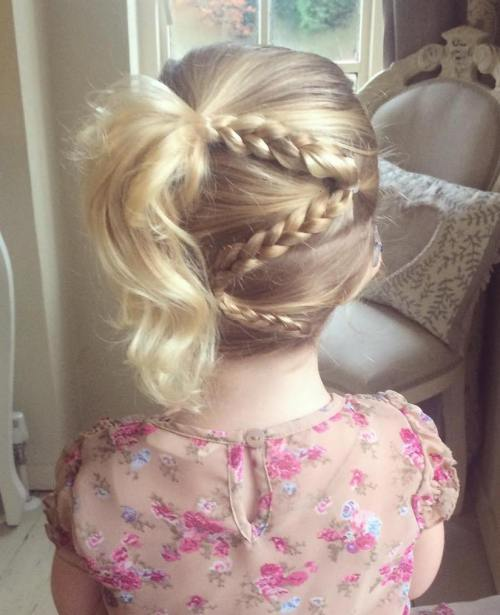 20 Magical Braided Hairstyles for Little Girls – HairstyleCamp