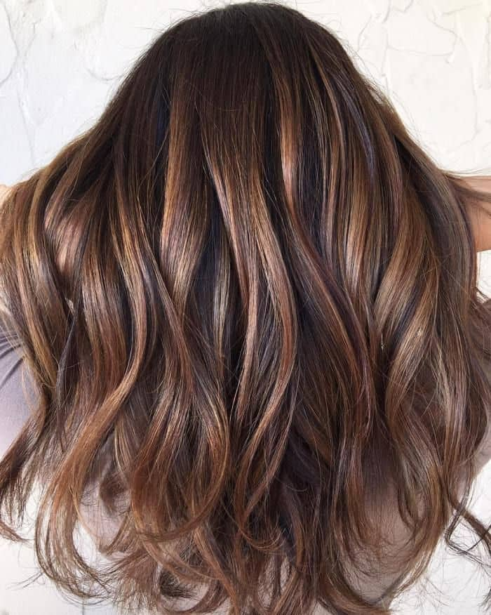 Brown Caramel Balayage hair color you love