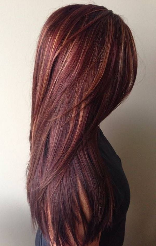 Dark Unique Hair Color Idea For Women