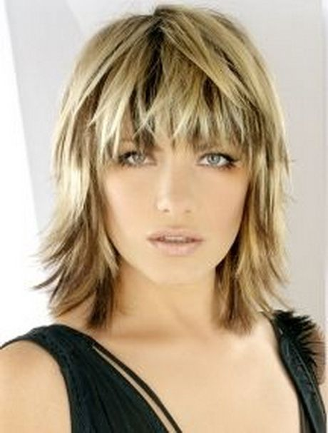 Photos of shoulder length layered hairstyles