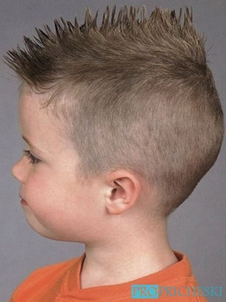 Swell 70 Most Adorable Baby Boy Haircuts 2017 Hairstylecamp Hairstyle Inspiration Daily Dogsangcom