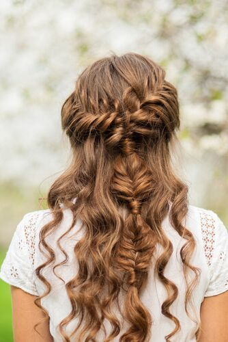 Cute Braid Hairstyle-min