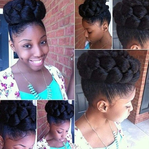 100 Captivating Braided Hairstyles For Black Girls 2019