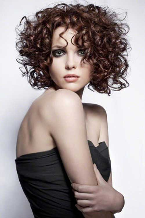Prev Next Short Curly Permed Hairstyles