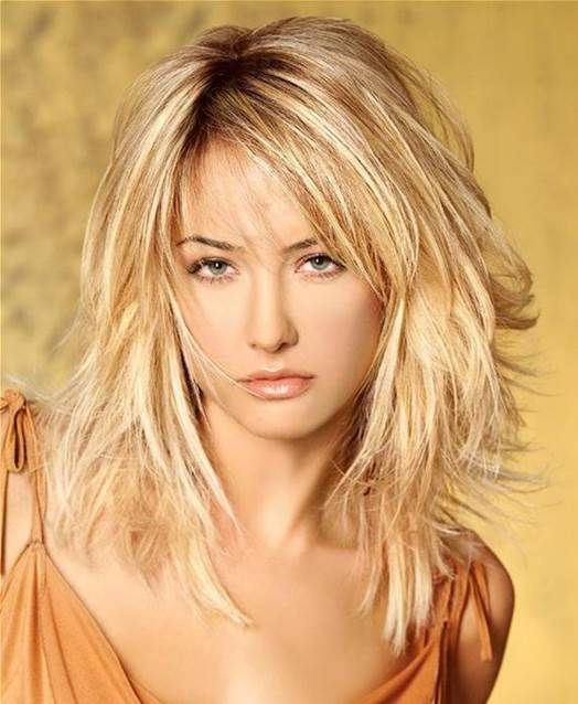Choppy Layers Blonde Hairstyles
