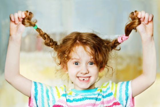 back to school hairstyle for girl