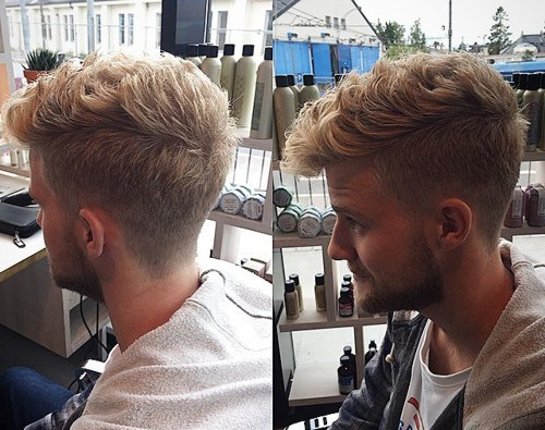 121 Coolest Faux Hawk Fade For Men 2019 Guide