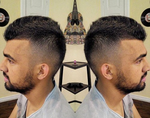 Coolest Faux Hawk Hairstyle For Men13