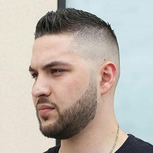 Coolest Faux Hawk Hairstyle For Men19