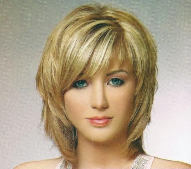 Layered Lob blonde hairstyles