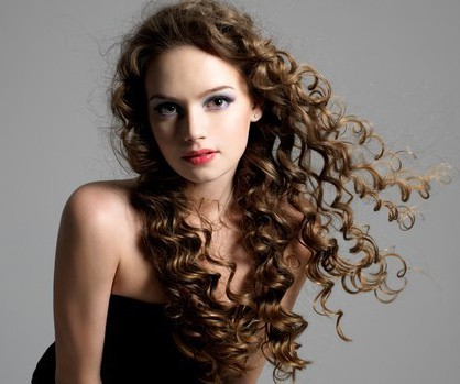 Marvelous #4: Beautiful Curly Perm For Your Thin And Long Hair