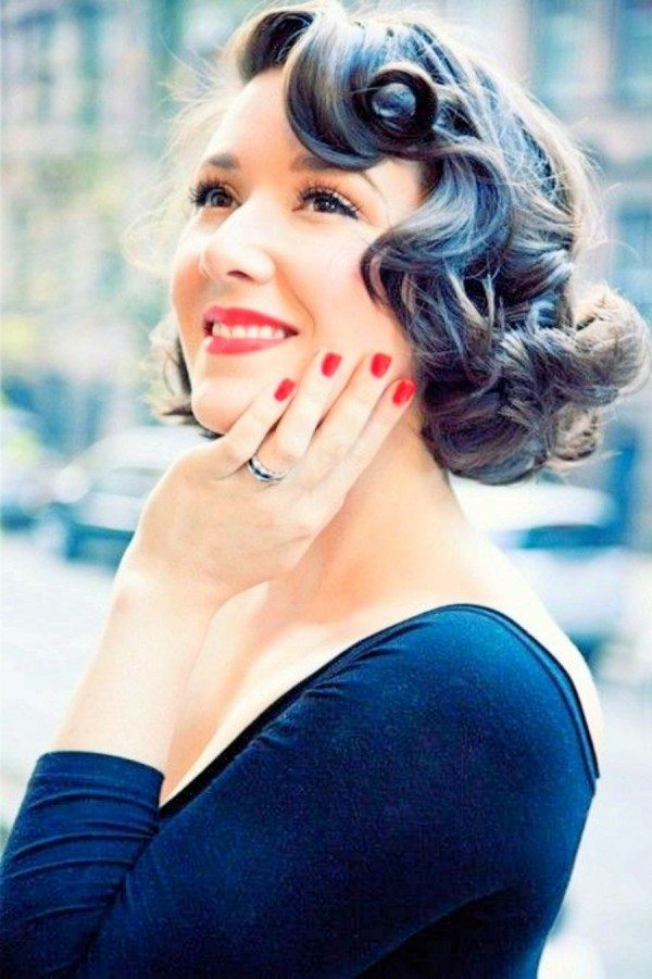 30 Perfect Short Curly Wavy Hairstyles Youll Definitely Love