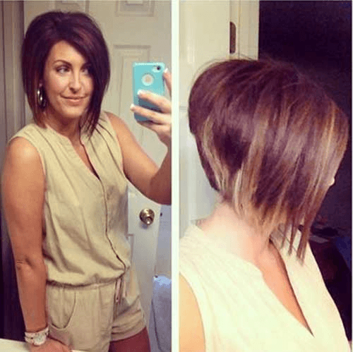 wedge hairstyle for adult women