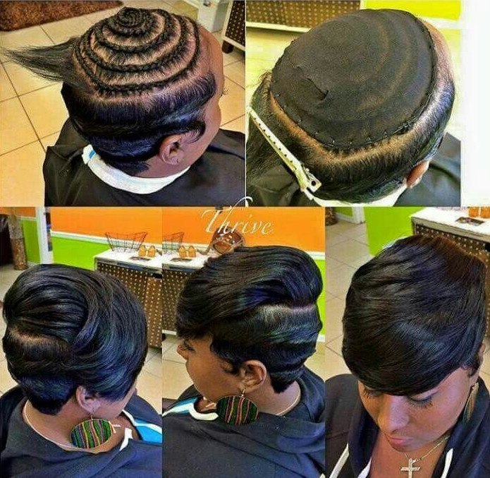 Fantastic 40 Chic Sew In Hairstyles For Black Women Short Hairstyles Gunalazisus