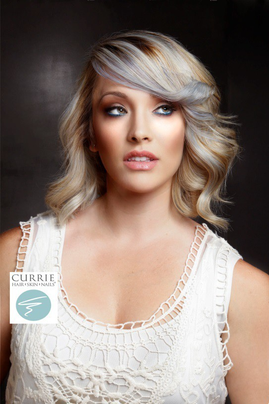 Platinum Princess: another back to school hairstyle for grownup girls