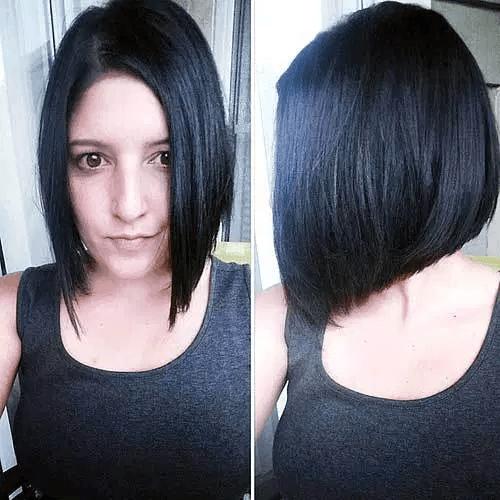 Straight Wedge Haircut