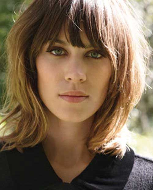 4: Shaggy Hairstyle on Alexa Chung