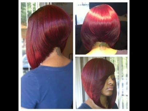 nice short bobs for colour haircut