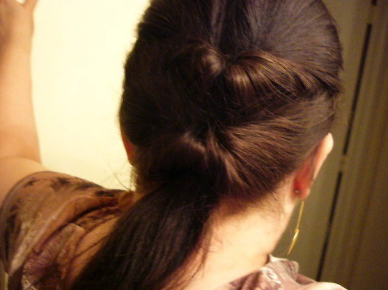 #6 Double Knotted Pony Tail