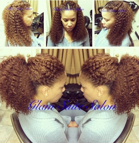 40 Chic Sew-In Hairstyles for Black Women