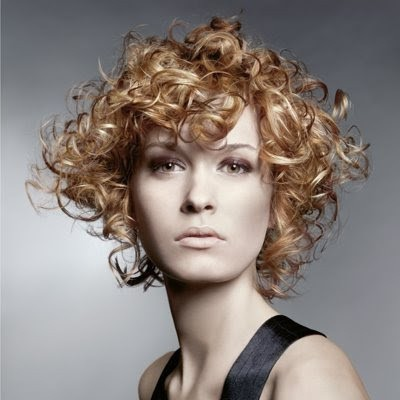 Spiral Curls Blonde hairstyle for women