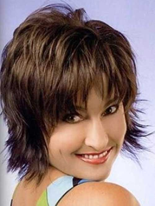 40 Ravishing Short Shag Haircuts for Women [2018]