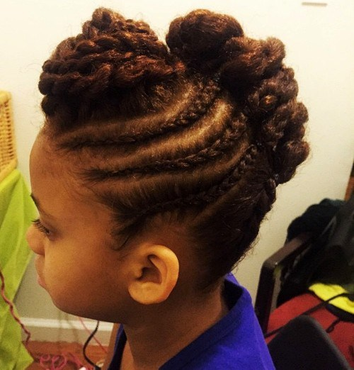 #19 Easy Braids Great for Coarse Hair