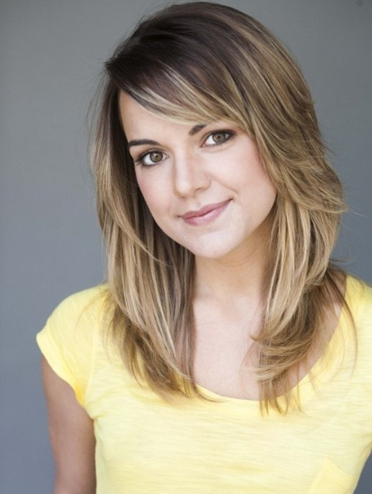 Casual Cool medium length layered hairstyles