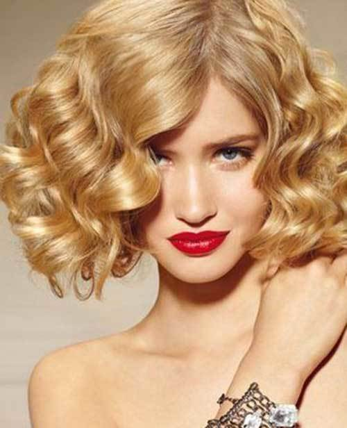 Hairstyles For Short Hair Clubbing : Amazing permed hairstyles for women who love curls