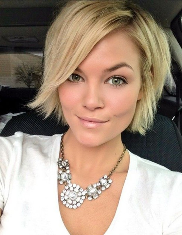 blonde haircuts for women