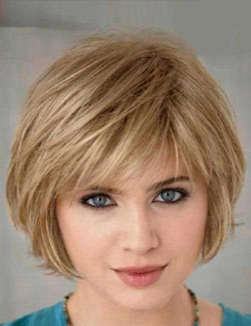 medium layered bob haircut