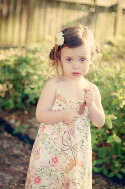 2. Side buns. Side buns hairstyle for Toddle Girl