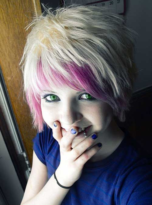 101 Modish Emo Hairstyles For Confident Girls Hairstylecamp