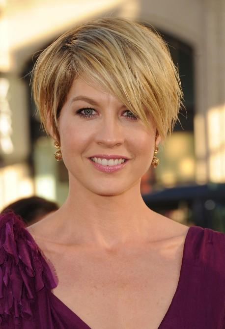 Fringe Bang haircut for adult women