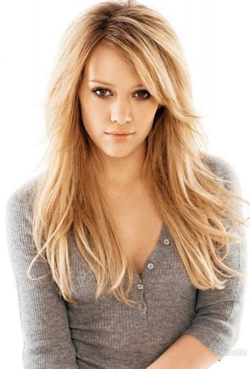 #18: Long Highlighted Layers. Hairstyles For Teenage Girls 20