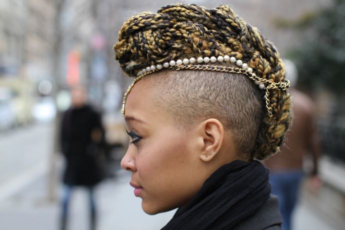 25 Brilliant Half Shaved Head Hairstyles For Young Girls