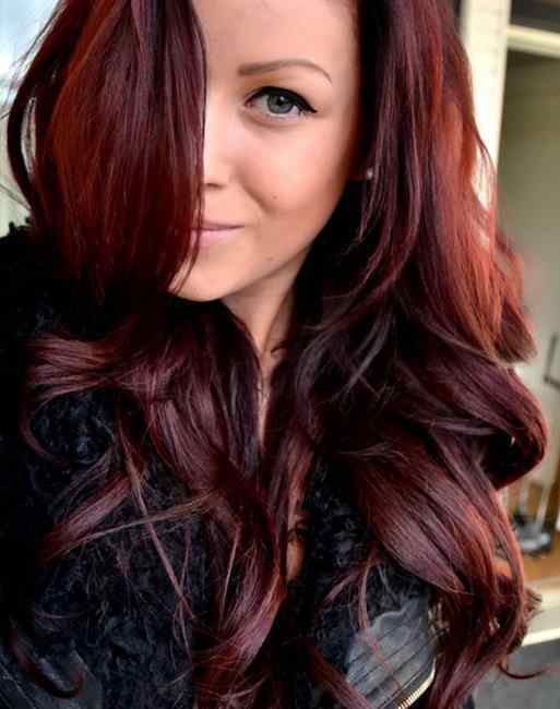 Balayage Hair Trend Colors Highlights Cherry Cola