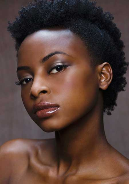 best Fohawk hairstyle for black girl
