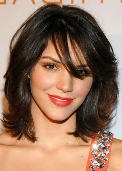Medium Shoulder Length Haircuts for Women 12-min
